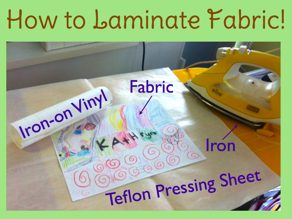 Diy How To Laminate Fabric Sewherecom