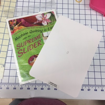 The Supreme Slider Is Marketed As A Free Motion Quilting Aid How You Get Those Beautiful Form Designs Like Feathers And