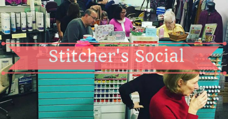 You're Invited to Stitcher's Social!
