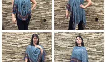How to Make a Sheer Serger Scarf: Video Tutorial