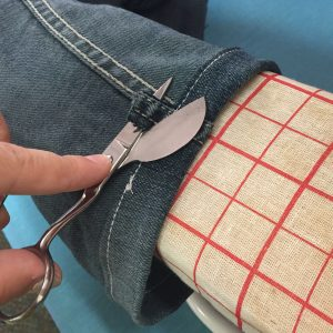 How We Hem Jeans