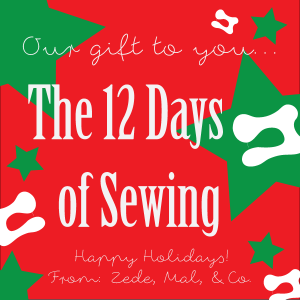 The 12 Days of Sewing Carol