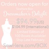 Bonus Episode: Now Available! SewHere Box – Dressmaker's Delight Edition
