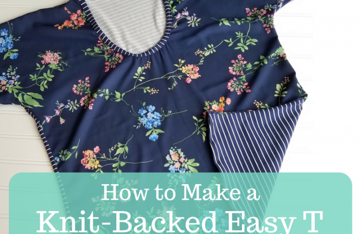 Guest Post: Loni's Knit-Backed Easy T