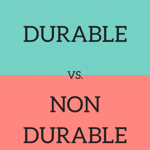 Durable and Non Durable Sewing Notions