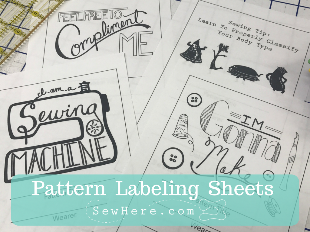 Pattern Labeling Sheets