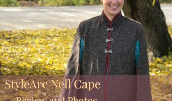 The Nell Cape by StyleArc: Review and Photos