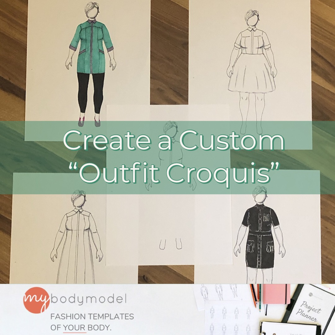 How to Use My Body Model to Create Custom Outfit Croquis