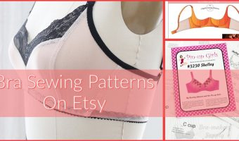 Bra Sewing Patterns on Etsy