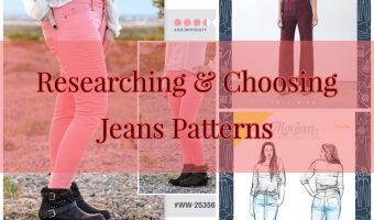 Make Your Own Jeans: Researching and Choosing a Jeans Pattern