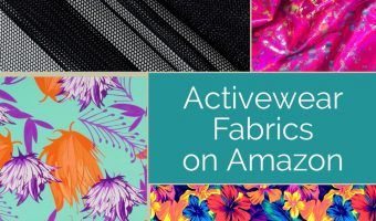 Swim and Activewear Fabric on Amazon