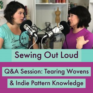 Tearing Wovens and Indie Pattern Knowledge