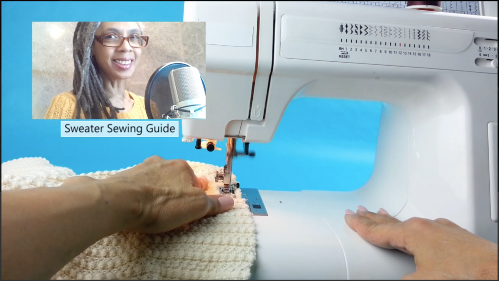 How to Cut and Sew Sweaters